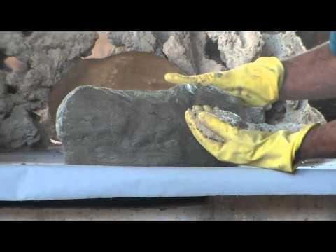 Como fazer Pedras Artificiais para Lagos,Cachoeiras e muito mais! - YouTube