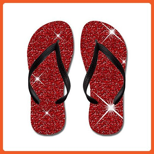 CafePress - Red Ruby Slippers - Flip Flops, Funny Thong Sandals, Beach Sandals - Sandals for women (*Amazon Partner-Link)