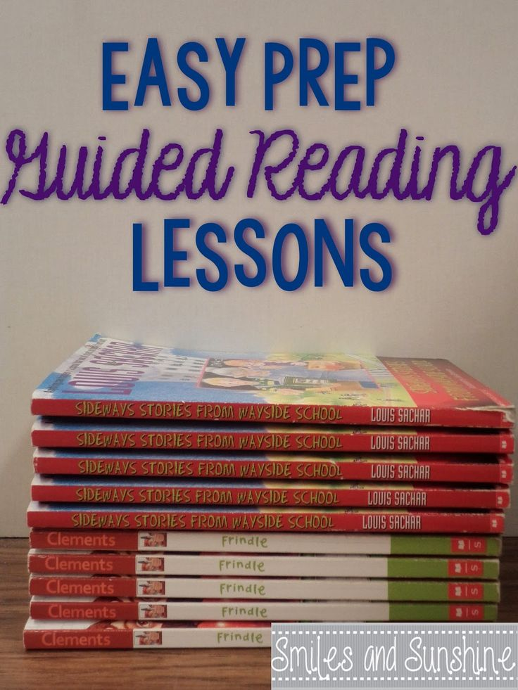 Smiles and Sunshine: Guided Reading~Easy Prep Lessons