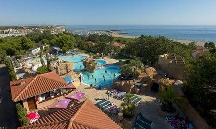 Groupon Ze Camping à Argelès-sur-Mer : 7 nuits pour 6 personnes avec espace aquatique au Camping 5* à Argelès: #ARGELÈS-SUR-MER 275.00€ au…