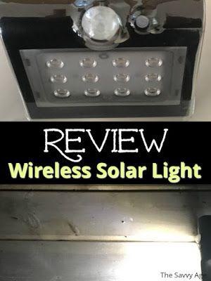 Defiant Wireless Motion Sensor Solar Light Review