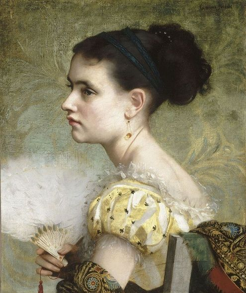 39 best Gustave Jean Jacquet images on Pinterest | Painting ...