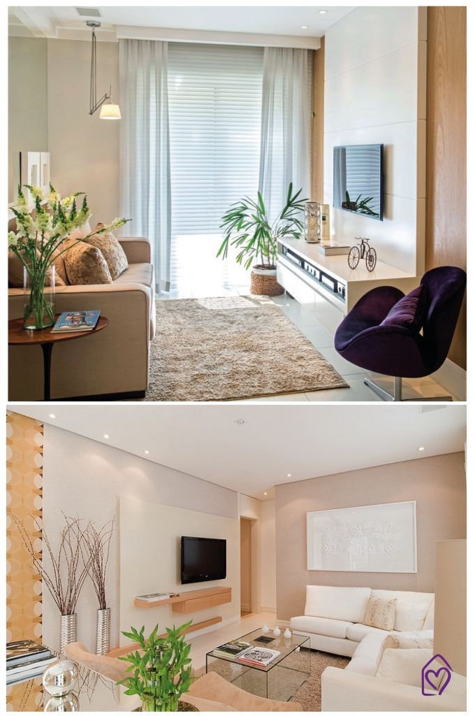 Dicas salas de TV pequenas!: