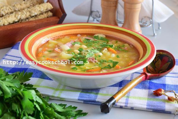 Фасолевый суп из белой фасоли: рецепт с фото | Легкие рецепты