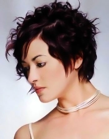 Short Curly And Wavy Hairstyle Number 44 Short Curly