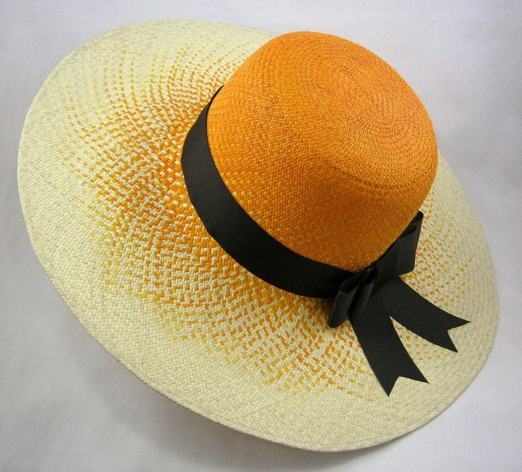 "Fade To Orange ""Pava"" Womens Sun Hat - Bacano Bags and Hats"