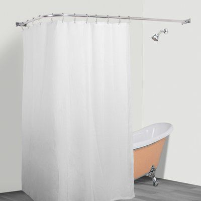 Utopia Alley Rust Free Hoop 24 Oval Fixed Shower Curtain
