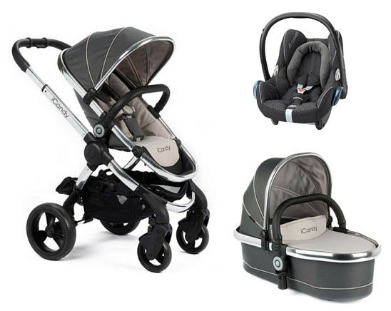 iCandy Peach Pram Package - Truffle