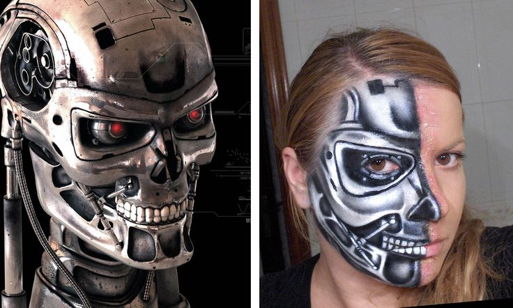 terminator makeup - Google Search