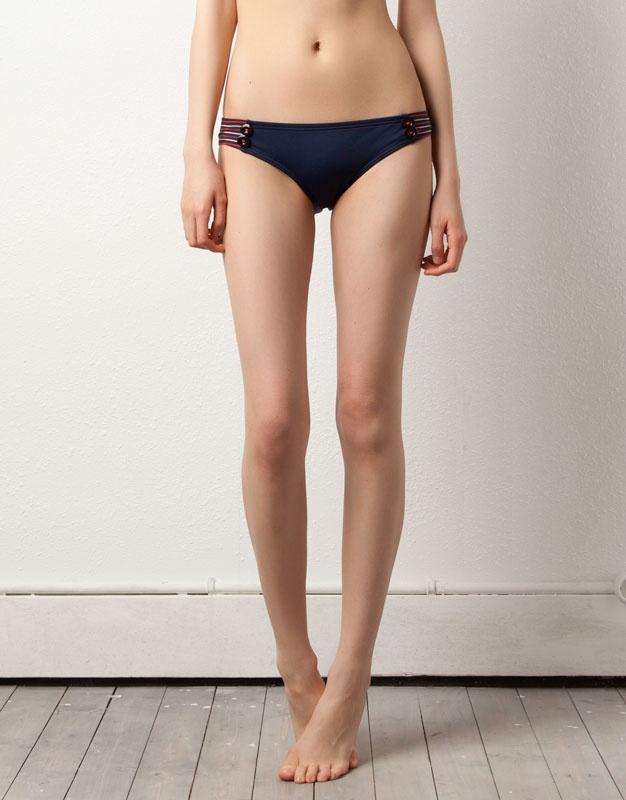 pull and bear bikini rayas