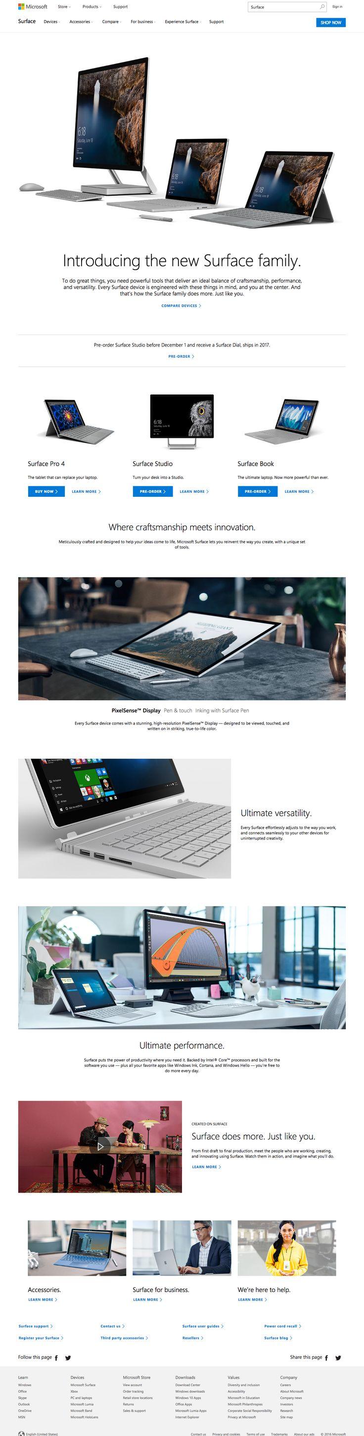 Microsoft Surface – SiteUp