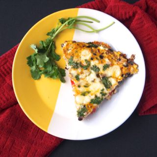 Great for any breakfast or brunch, this frittata with Cabot cheddar and greek yogurt is a protein filled & delicious family favorite!