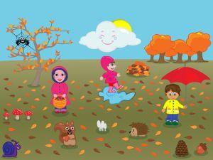 App om kinderen nieuwe woorden + bijbehorende lidwoorden te leren over de seizoenen. Meer dan 600 zinnen!