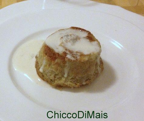 Tortini di carciofi con salsa al gorgonzola ricetta raffinata il chicco di mais http://blog.giallozafferano.it/ilchiccodimais/tortini-di-carciofi-con-salsa-al-gorgonzola-ricetta-raffinata/