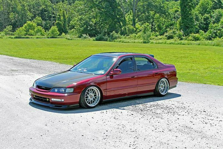 Red Cd5 Slammed Where My Cd5s At Accords 1994
