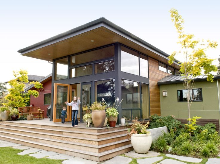 64 best images about northwest contemporary on pinterest for Modern shed roof house plans
