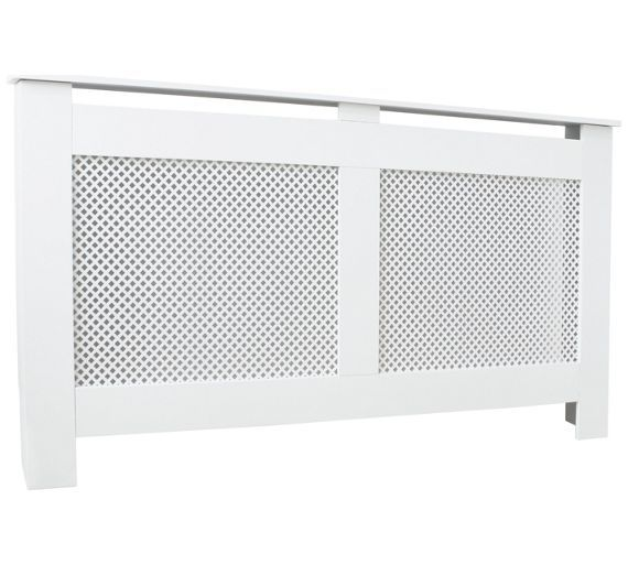 Buy HOME Odell Large Radiator Cabinet - White at Argos.co.uk, visit Argos.co.uk to shop online for Radiator covers, Home furnishings, Home and garden