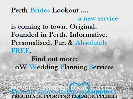 Your free Wedding Planner!  We have our own oW Supplier Portfolio & we provide a quality wedding planning service for Perth, WA brides - all free!