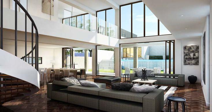 amazing split level living room | 1000+ images about Amazing Split Level Floor Plans on ...