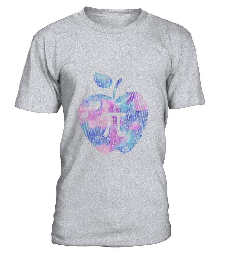 Apple Pi - Math Shirt, Pi day 2017 T-Shirt  Funny Math T-shirt, Best Math T-shirt