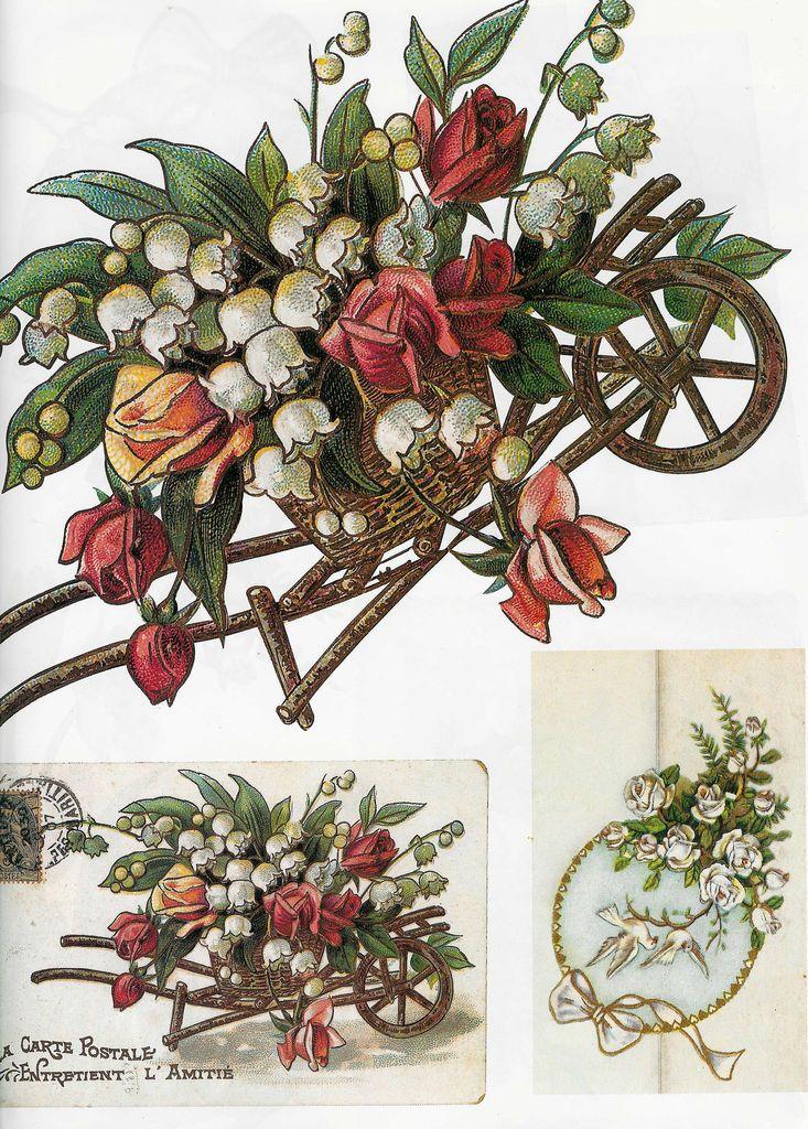 Big scanned decoupage Images to Download Vintage style #roses #vintage #scrapdiecut