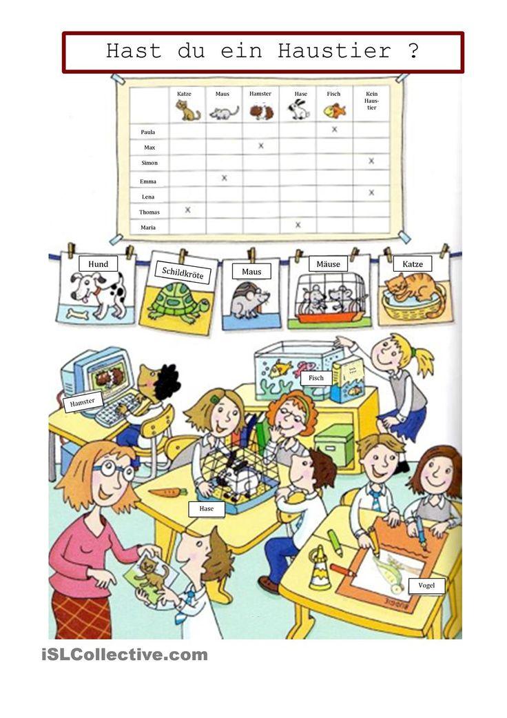 Groß Mein Haustier Arbeitsblatt Fotos - Arbeitsblätter für ...