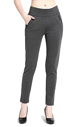 New Trending Pants: BodiLove Womens Slim Fit Performance Dress Pants with Zipper Pocket Charcoal XL. BodiLove Women's Slim Fit Performance Dress Pants with Zipper Pocket Charcoal XL  Special Offer: $16.70  366 Reviews Now you can go to work in a pair of Slim Fit Performance Dress Pants with Side Zip Pocket and then work out in the same pair pants like stretchy yoga pants. These...