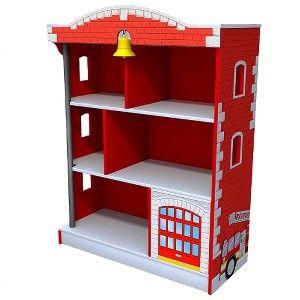 Not for Mat but cute-Firehouse Bookcase