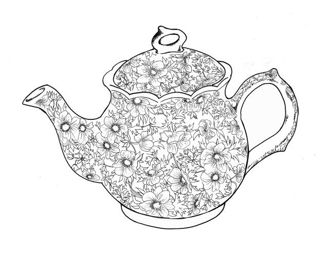 Best Photo Of Teapot Coloring Page Entitlementtrap Com Tea Pots Shopkins Colouring Pages Coloring Pages To Print
