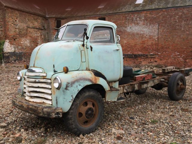1950 Chevrolet Chevy COE pickup truck Barn find Hot rod v8 - very original For Sale Milton Keynes , jct14 M1, United Kingdom | AutoMotoClassicSale.com