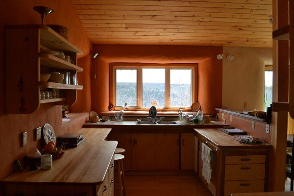 Living Sol Building and Designs' Greenest Passive Solar Straw Bale Home - Living Sol Building and Design