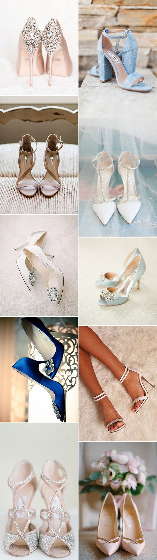 2017 trending bridal wedding shoes to love