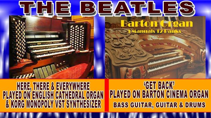 Beatles - Here, There & Everywhere, Get Back Played on Cathedral and Cin...