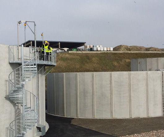 C3C Tanksystem™ Bassänger  Spillepengen Reningsverk, Malmö