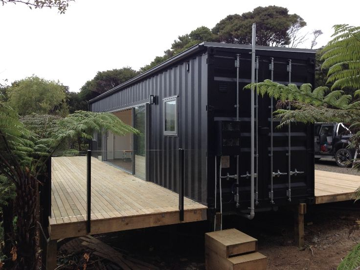 Container home in the Bay of Plenty, by Cubular. Do-able.