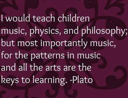 Plato Music Education Website