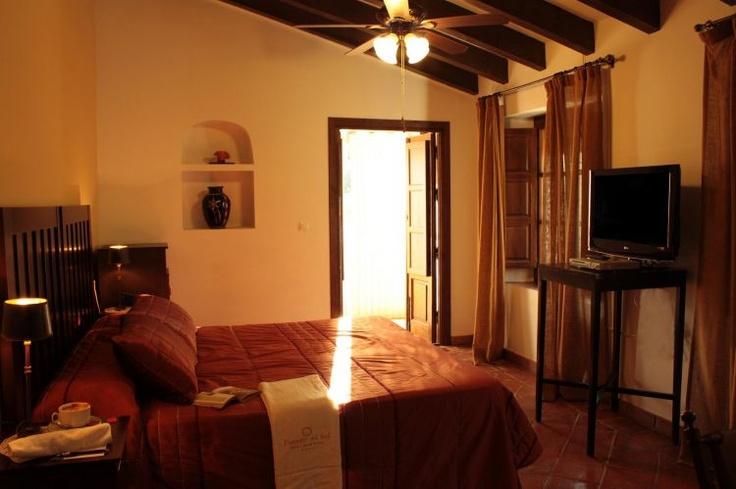 Habitación Hotel La Fuente del Sol #hotelandalucía