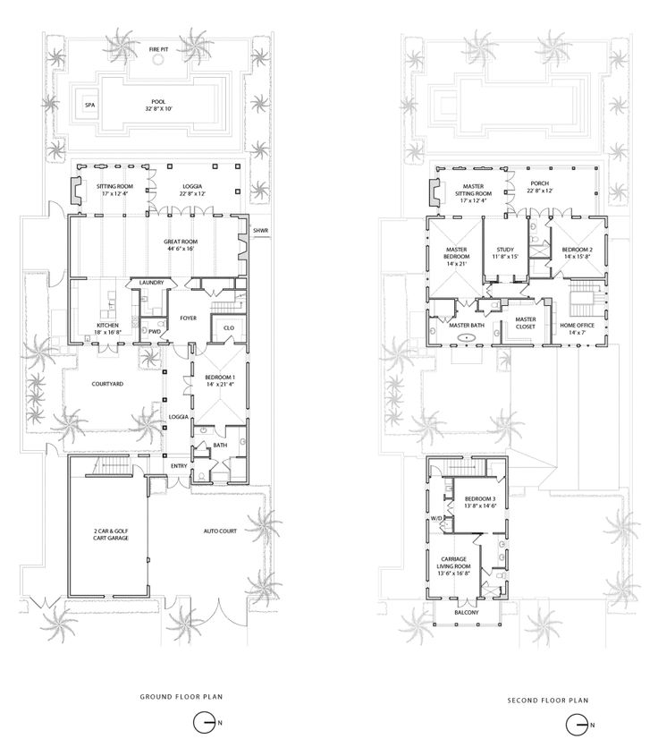 1000 images about architectural elevations plans on for Floor plans florida