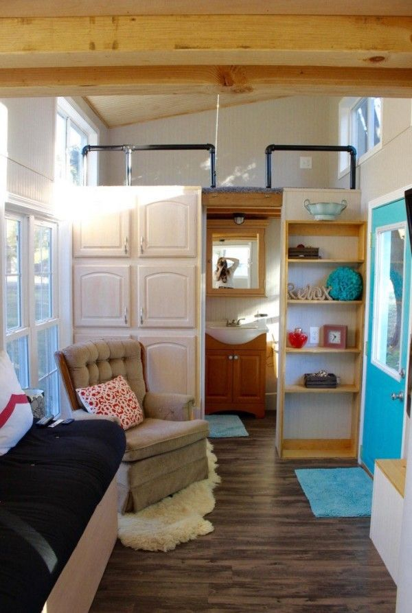 Best Tiny Homes On Wheels Inside And Out Images On Pinterest