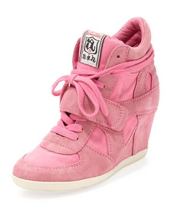 adorable hidden wedge sneakers
