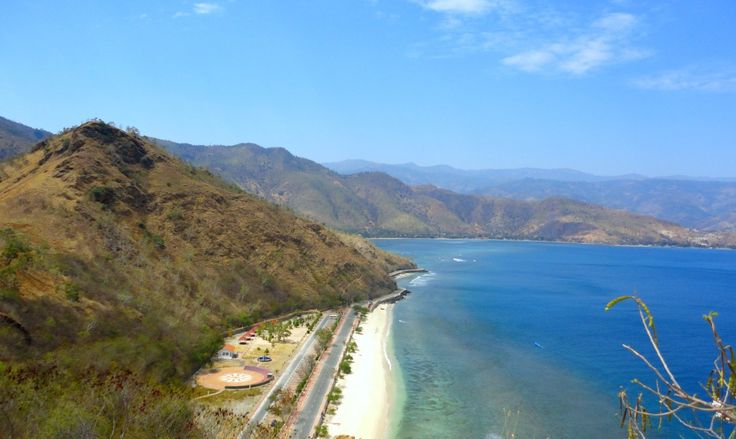 Scenery in dili, east timor