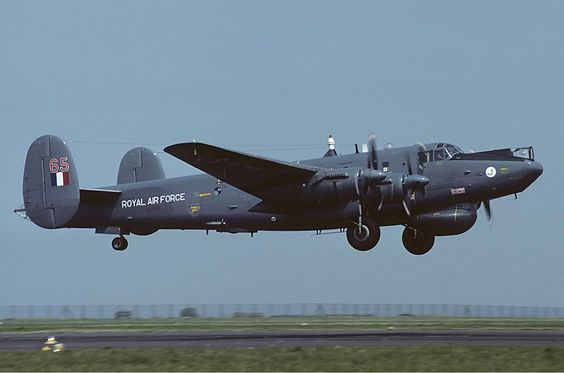 Royal Air Force Avro 696 Shackleton AEW2 @ Newquay Cornwall Airport10 August 1983Mike Freer