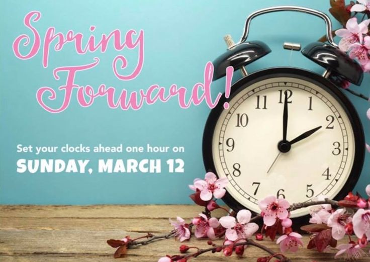 "Daylight Saving Time | This is just a reminder to set your clocks FORWARD 1 hour on Sunday 3/12 at 2:00am for the start of Daylight Saving Time. | The easiest thing to do is to change all your clocks Saturday night before going to sleep. | Remember the saying: Spring Forward / Fall Back | Below is the link to the ""Daylight Saving Time"" website if you'd like more information. http://www.webexhibits.org/daylightsaving/b2.html"