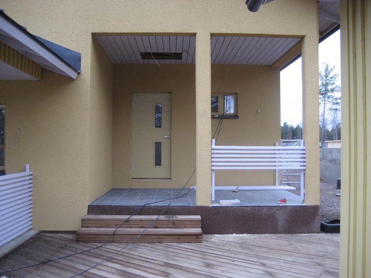 Ekami, talonrakennus, Kotka.