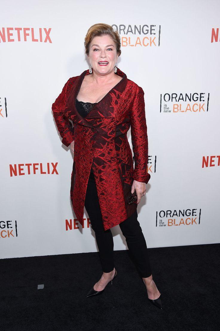 Kate Mulgrew au lancement de la quatrième saison de Orange Is The New Black