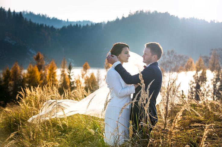 Plener ślubny z Parą Młodą, Czorsztyn