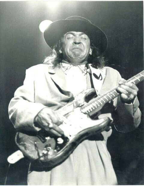 Stevie Ray Vaughan performs at the North Sea Jazz Festival - July 13,1985.