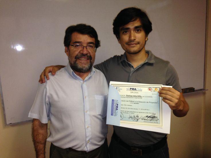Felicitaciones Rodrigo Véliz!!!