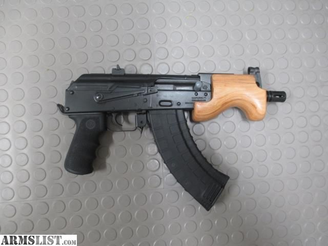 ARMSLIST - For Sale: Micro Draco AK47 Pistol, this is what I imagine is under a trenchcoat a lot