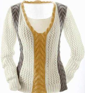 Мастера и умники: 2 Красивых стильных пуловера (размеры с 36 по 50)